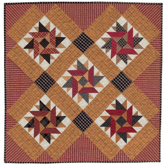 Hidden stars quilt by nancy wakefield color family recipe for Patchwork quilt book