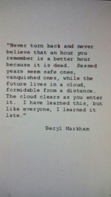 Beryl Markham - West with the Night