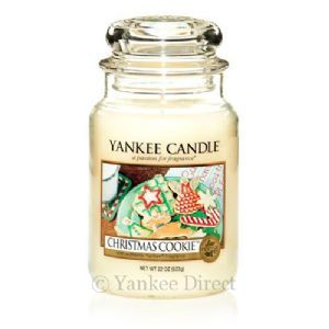 Yankee Candles UK | Yankee Candle Christmas Cookie Large Jar