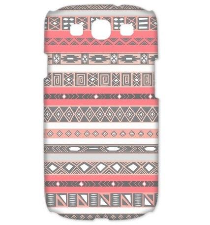 Peach Rose Aztec Pattern - Cover Samsung Galaxy S3 Case. $17.00, via Etsy.