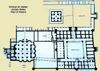 Khirbat al mafjar jerico palestina buscar con google for Google planimetria