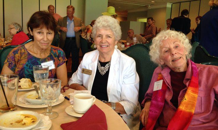 Eileen Kirk, Gail Sanderson & Virginia Morgan at the Sister Cities Perpignan luncheon at the SaraBay Country Club November 4,  2013