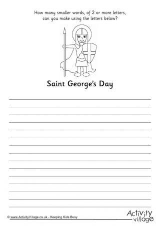 23 best school images on Pinterest | St georges day, Baby crafts and ...