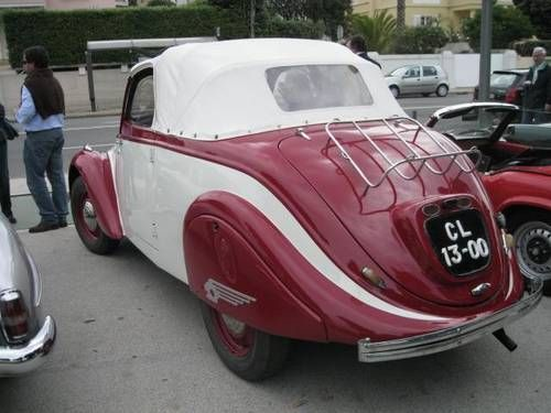 Superb PEUGEOT 202 CABRIO For Sale (1947)