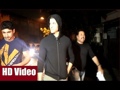 Hrithik Roshan spotted late night with his fitness trainer.  #hrithikroshan #bollywood #bollywoodnews #bollywoodnewsvilla