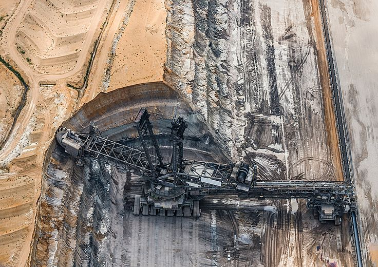 Ira loves bucket wheel excavators... ruhr sublime from above