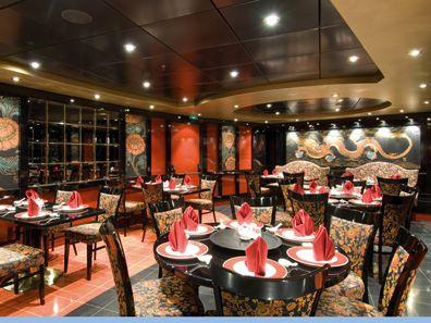 Sfeerimpressie MSC Orchestra. Zin in een Oosterse maaltijd, bezoek dan het Chinese restaurant.