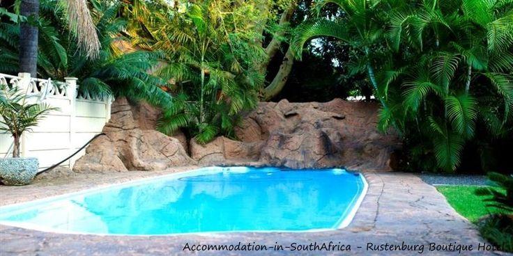 Pool at Rustenburg Boutique Hotel. http://www.accommodation-in-southafrica.co.za/NorthWest/Rustenburg/RustenburgBoutiqueHotel.aspx
