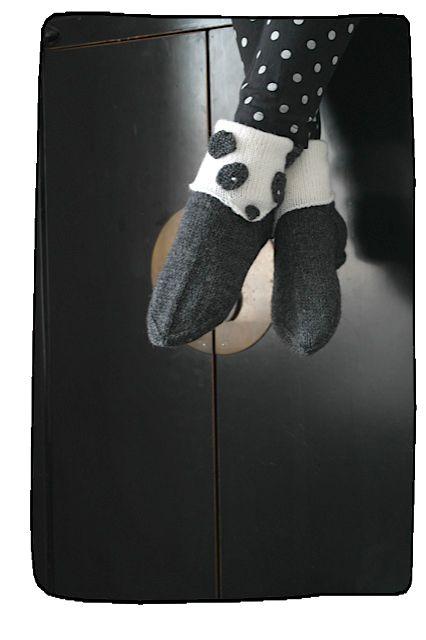 Panda socks.