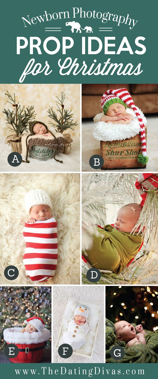 Adorable Newborn Photography Prop Ideas for Christmas