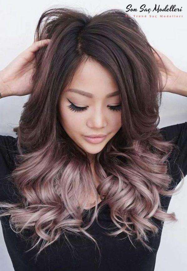 Pattern Haarfarbe Bronze Ombre Bronze Haarfarbe Ombre Trend
