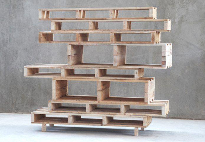 Мебель из поддонов | 53 фотографии
