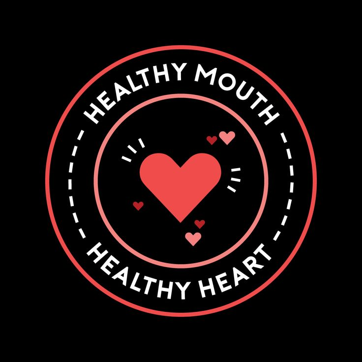 FEBRUARY IS HEART MONTH! Heart health and gum health are closely linked. Another important reason to brush and floss daily!