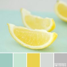 Lemon mint color palette I'm in love with color mint right now.