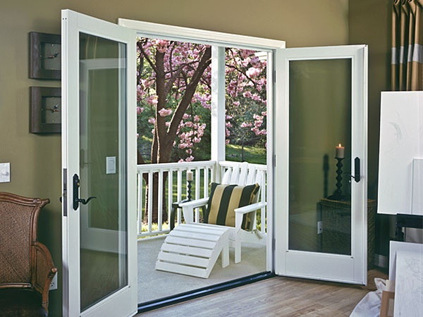 55 best window and door ideas images on pinterest - Soundproof french doors exterior ...