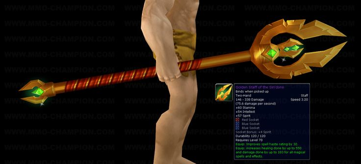 How to: make the Golden Staff of the Sin'dorei