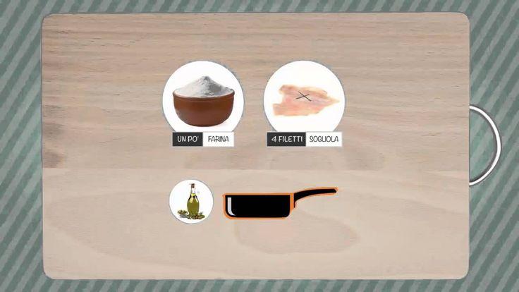Sogliola al prezzemolo e mandorle - Video ricetta