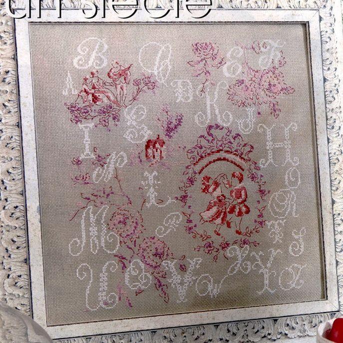 Kreuzstick - cross stitch free pattern ! A - Z .... look to website ;O) Gallery.ru / Фото #3 - Без названия - frango