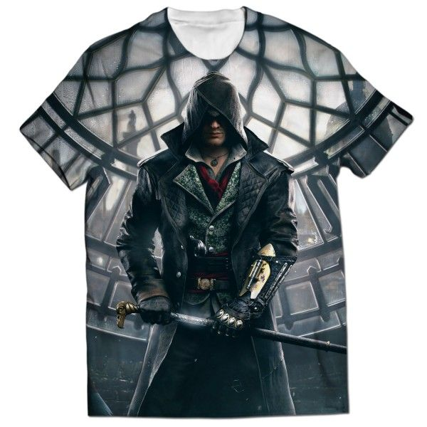 ASSASSINS CREED JACOB ALL OVER PRINTED T-SHIRT Visit: http://www.thewarehouse.pk/assassins-creed-jacob-all-over-printed-t-shirt-14509