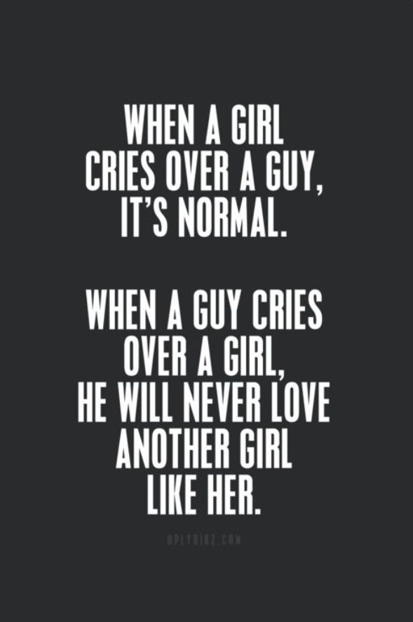 When a guy...