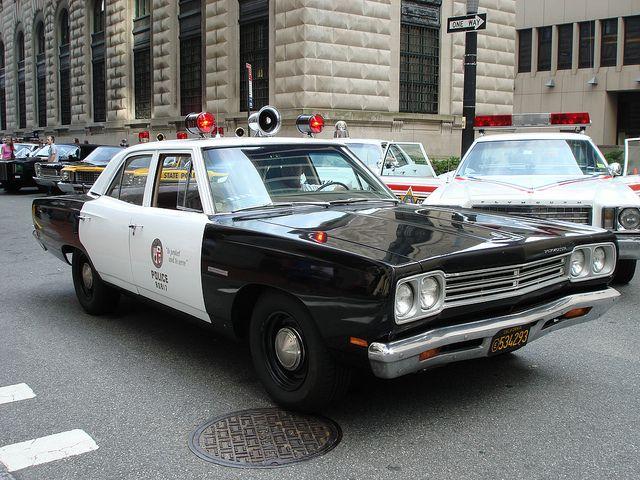 nyc   vintage police car show inspiration