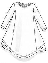 Tunika ekopuuvillaa – Pilkkuja ja raitoja – GUDRUN SJÖDÉN - vaatteita verkossa ja postimyynnissä