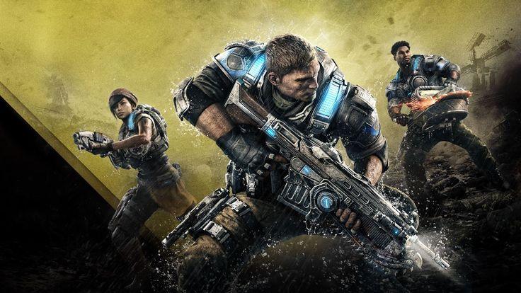 Wallpaper de Gears of War 4, fondo alternativo. #GearsofWar4 #Gears4 #Shooter #XboxOne #GOW4