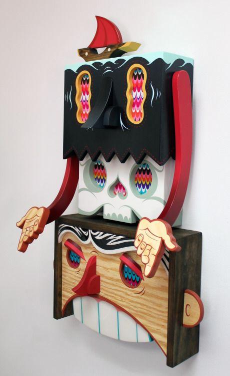 Alex Yanes nacido 1977 es un artista con sede en Miami cubano. Sus creaciones se pueden describir como caprichoso, juguetón, con un borde a veces oscuro. Ellos cobran vida en acrílico, esmalte y madera para convertirse en uno-de-uno-tipo instalaciones tridimensionales, y usted puede ver a su proceso de principio a fin. Usted también puede encontrar sus diseños en colaboraciones con algunos de las marcas más importantes del mundo, incluyendo Adidas, Red Bull, Disney, Sienna y cargas más! ...