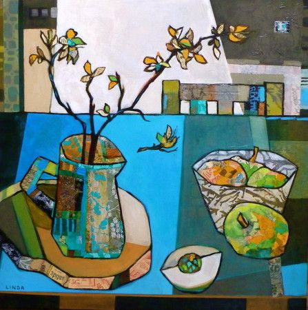 Branching Out - Linda Bell Collage Artist