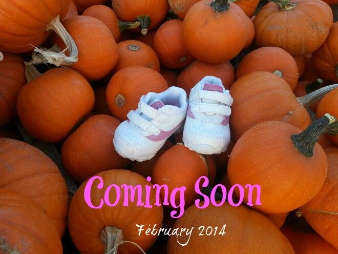 ♥ Our baby gender announcement! Taken at a local pumpkin patch!  by Christy T. Solis