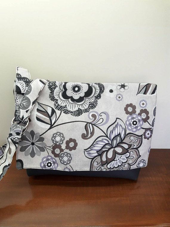 Canvas Messenger Bag Crossbody Bag Woman BAg Gift by MissLaurel89