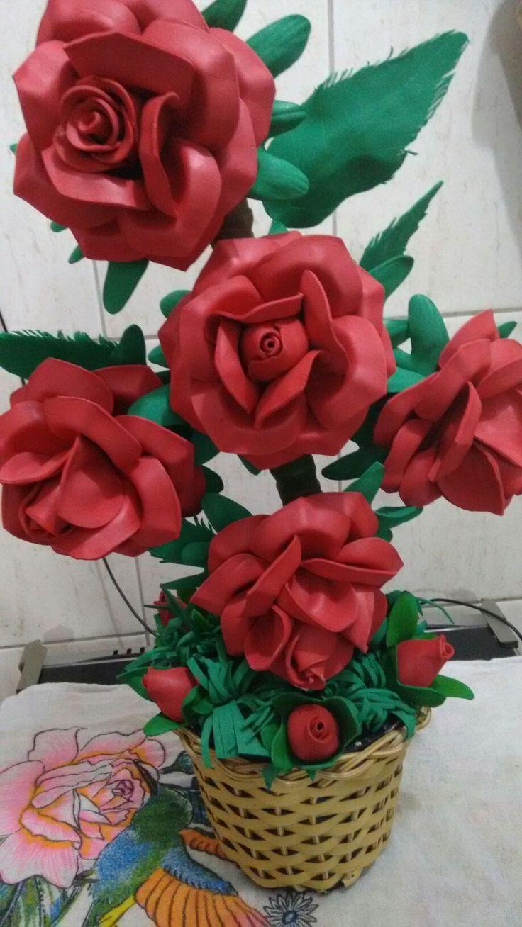 Arranjo de rosas mexicanas