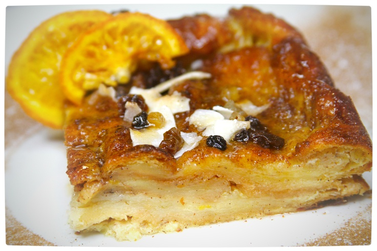 Orange Marmalade Croissant Pudding. From ordinary to extraordinary, we turn the simple buttered croissant into a sublime dessert that can be enjoyed at anytime. Read all about it here: http://bit.ly/UBoxHf