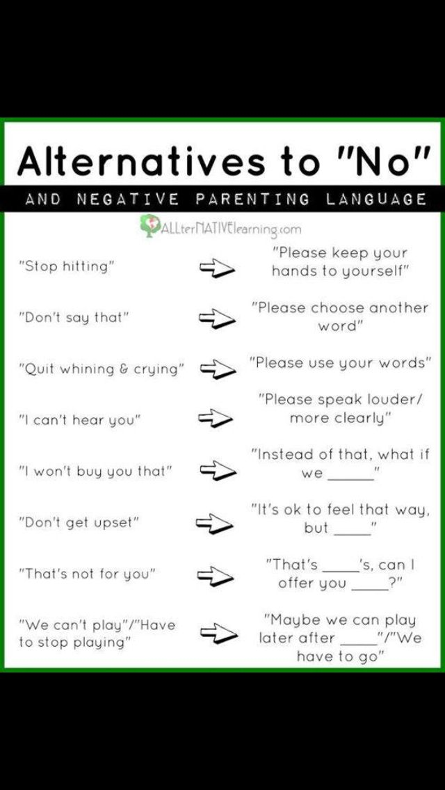 Positively correcting children