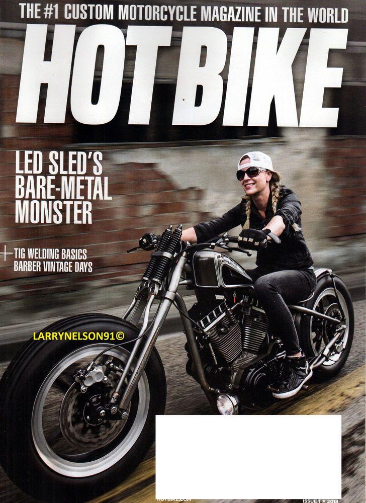 Hot Bike Magazine 1 2018 Custom Motorcycle Savannah Rose 1964