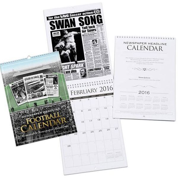 Personalised Football Calendar Swansea City