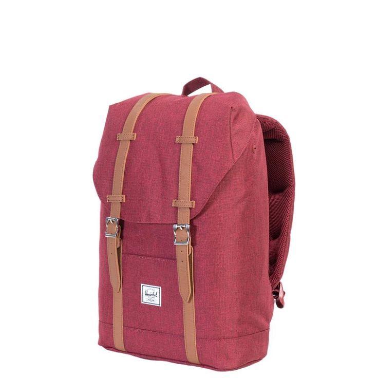 Herschel backpack Retreat M 13 inch winetasting