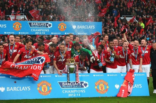 ~ Manchester United 2013 CHAMPIONS ~