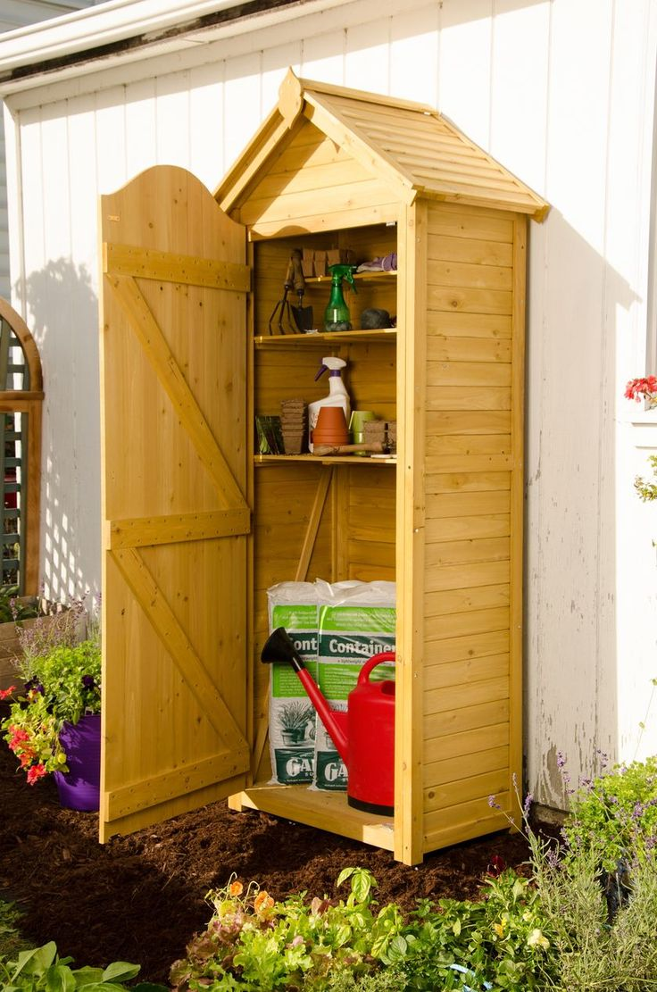 Top 25 best tool sheds ideas on pinterest garden shed for Garden tool storage ideas