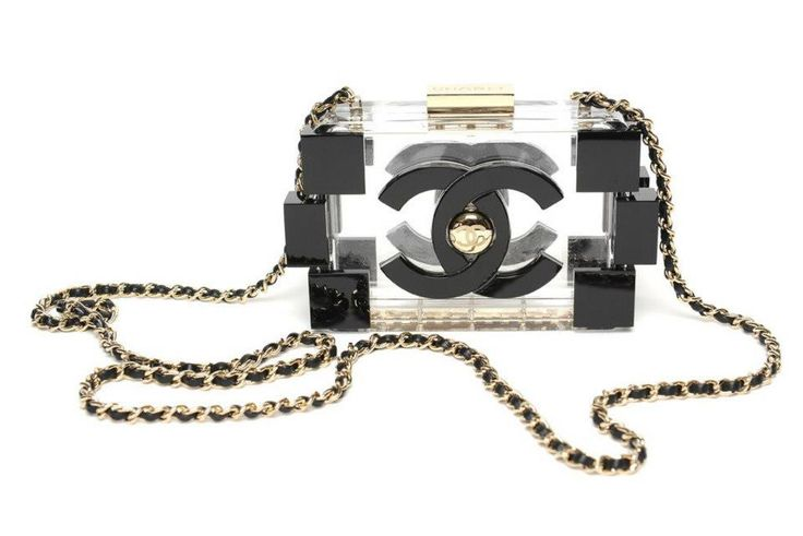 Chanel clear 'Lego' Clutch - Spring-Summer 2013