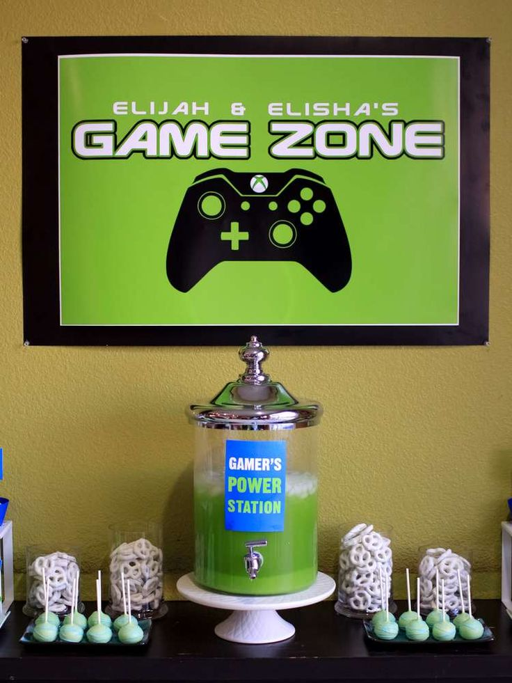 Xbox Video Game Themed Party | CatchMyParty.com