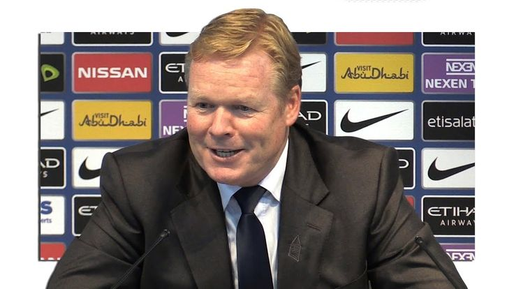 cool Manchester City 1-1 Everton - Ronald Koeman Full Post Match Press Conference - Premier League