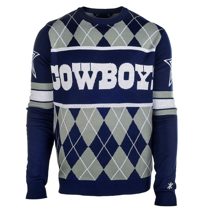 NFL Football Cowboys Big Logo Ugly Sweater | Sports | Pinterest ...