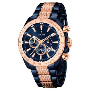 FESTINA chronograph F16886/1 Ανδρικό ρολόι FESTINA χρονογράφος με μπλε καντράν, ταχύμετρο, ημερομηνία, 24ωρη ένδειξη με μπρασελέ | ΤΣΑΛΔΑΡΗΣ στο Χαλάνδρι #Festina #χρονογραφος #μπλε #μπρασελε #ρολοι