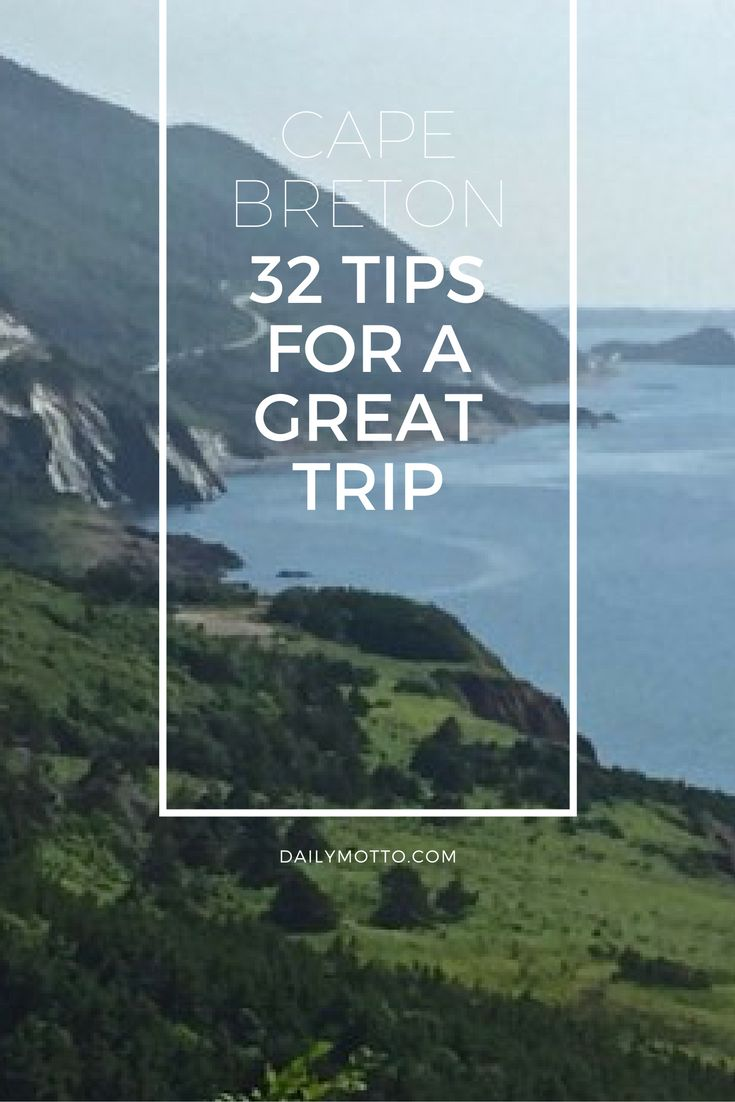 Cape Breton, Nova Scotia: 32 Tips for a Great Trip http://solotravelerblog.com/cape-breton-nova-scotia-32-tips-for-a-great-trip/