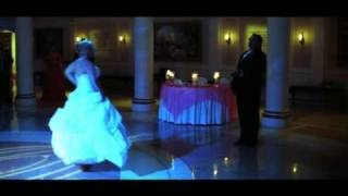 Cinderella Themed Wedding - First Dance - AMAZING!, via YouTube.