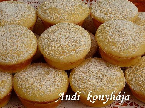 Túrós-citromos-pudingos muffin