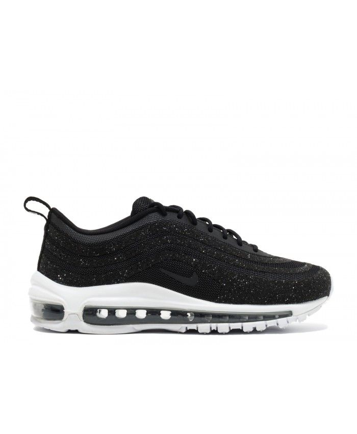 e6e84ad0b658 Womens Nike Air Max 97 Lx Swomensarovski Black Black White Outlet ...