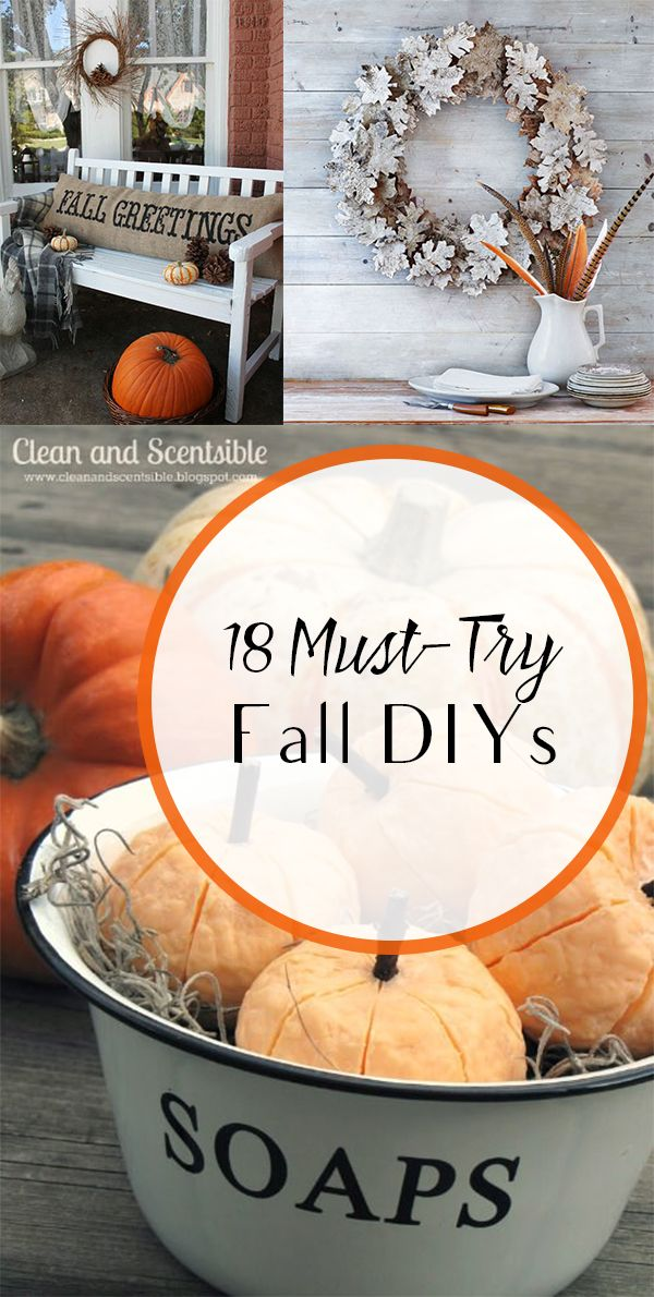18 Must Try Fall DIYs 1118 best FallHarvest