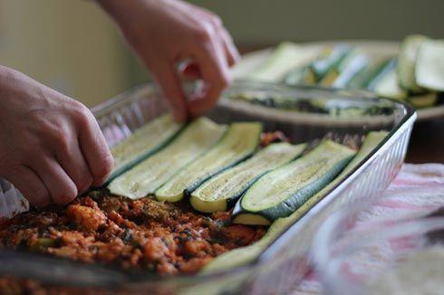 glutenvrij lasagne recept